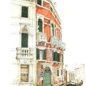 Canale di Cannaregio. Venezia