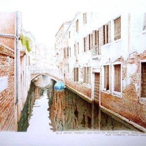 Rio de Malpaga. Dorsoduro. Venezia