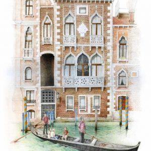 Palazzo Contarini Fasan. Venezia
